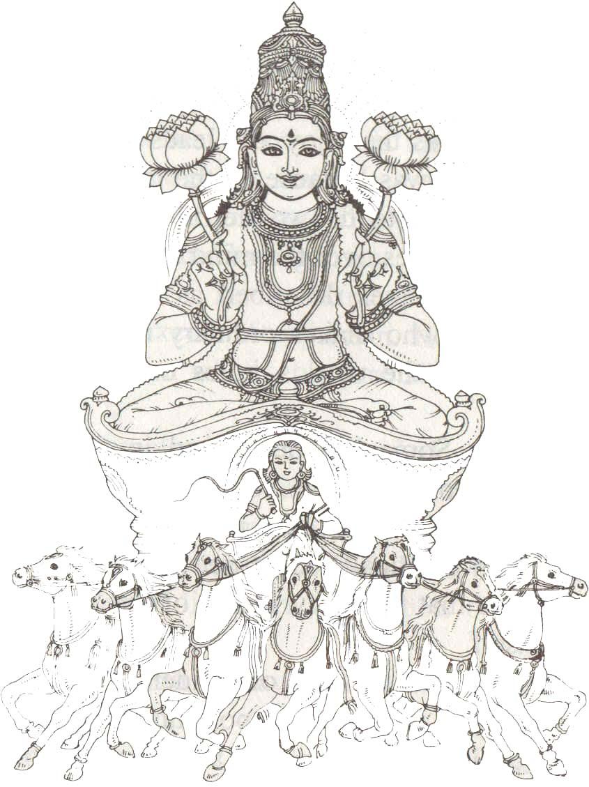 Hindu God - Surya