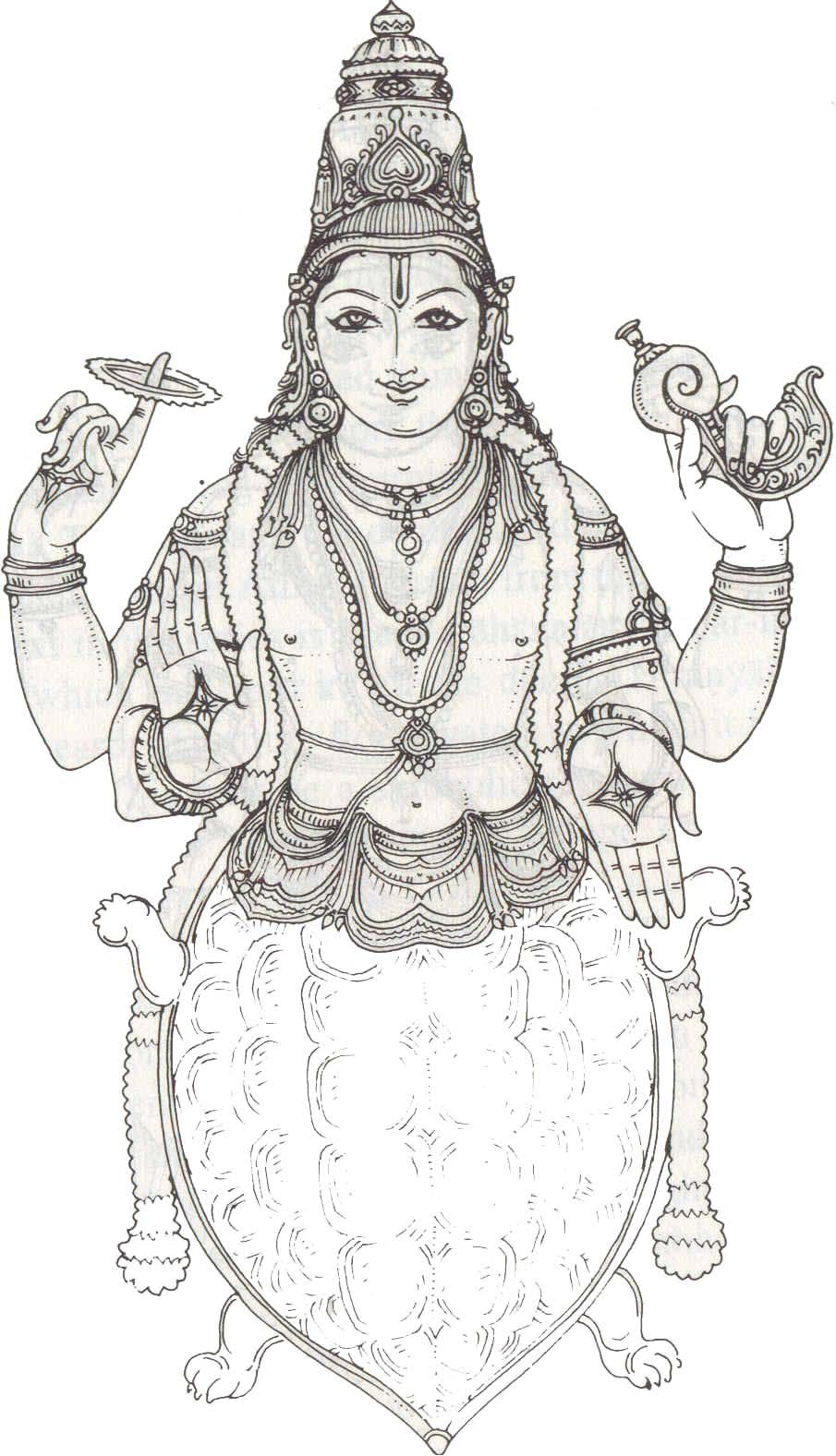Line Art Hindu Gods : Brahman hinduism drawing pixshark images